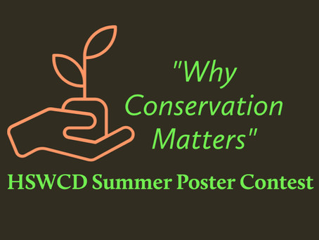 'Why Conservation Matters' summer poster contest open to school-aged entrants