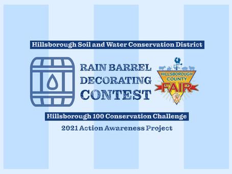 'Enriching the Environment' Rain Barrel Decorating Contest set for 2021 Hillsborough County Fair