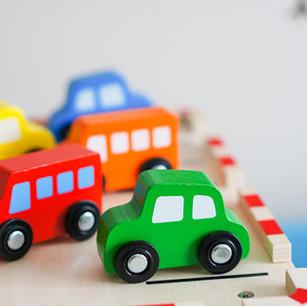 Wooden Toy Car Set $79