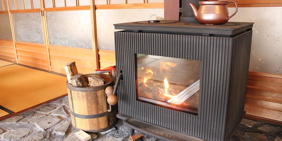 【受付終了】薪ストーブのある暮らし ~憧れの暖炉のある生活体験~