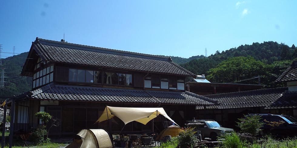 古民家キャンプ~焚火を満喫ビギナー向け冬キャンプ教室~