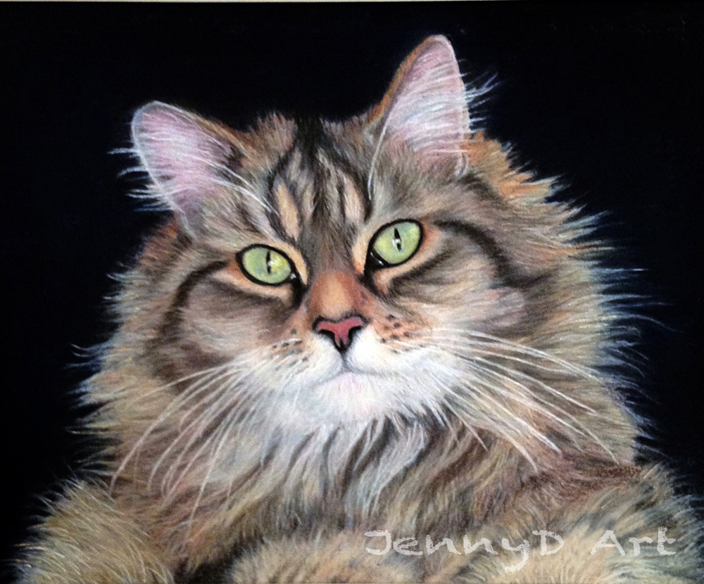 'Minnie Moo' in Pastel