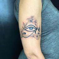 third eye tattoo