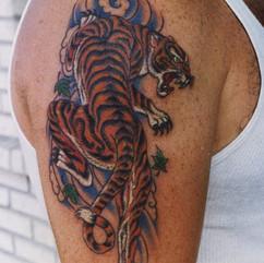 Tiger Shoulder Piece