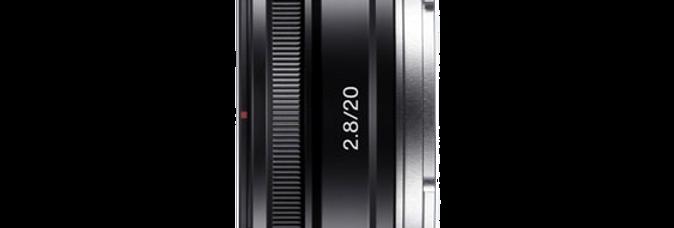 Sony E 20mm F2.8 Objektiv