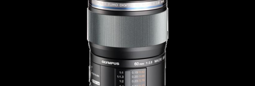 Olympus M.Zuiko Digital ED 60mm 1:2.8 schwarz Marko Objektiv