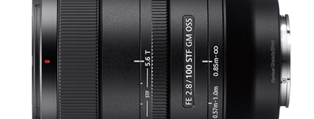 Sony FE 100mm F2.8 T5.6 STF GM OSS Objektiv