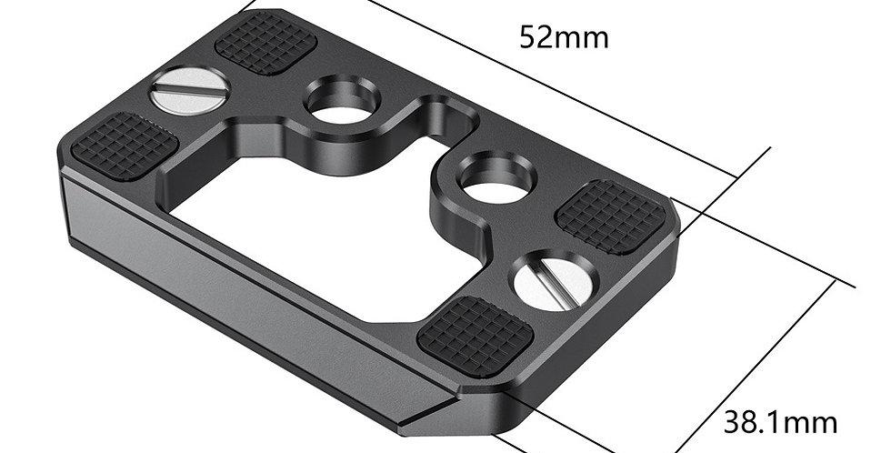 SmallRig 2389 Arca-Schnellwechselplatte für SmallRig Cage