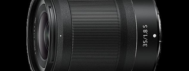 NIKKOR Z 35 mm f/1.8 S Objektiv