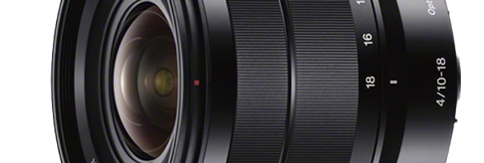 Sony E 10-18mm F4.0 OSS Objektiv
