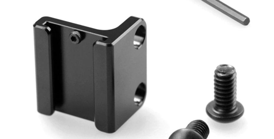 SmallRig 1593 Blitzschuh-Befestigung für Mikrofone und anderes Zubehör