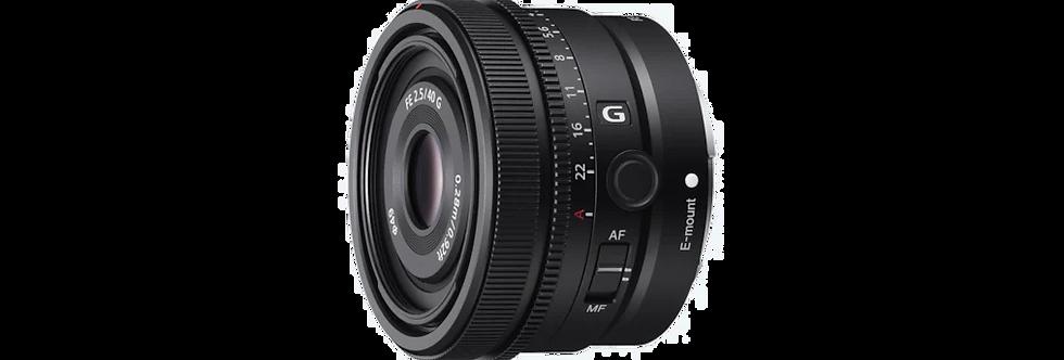 Sony FE 40mm 2.5 G