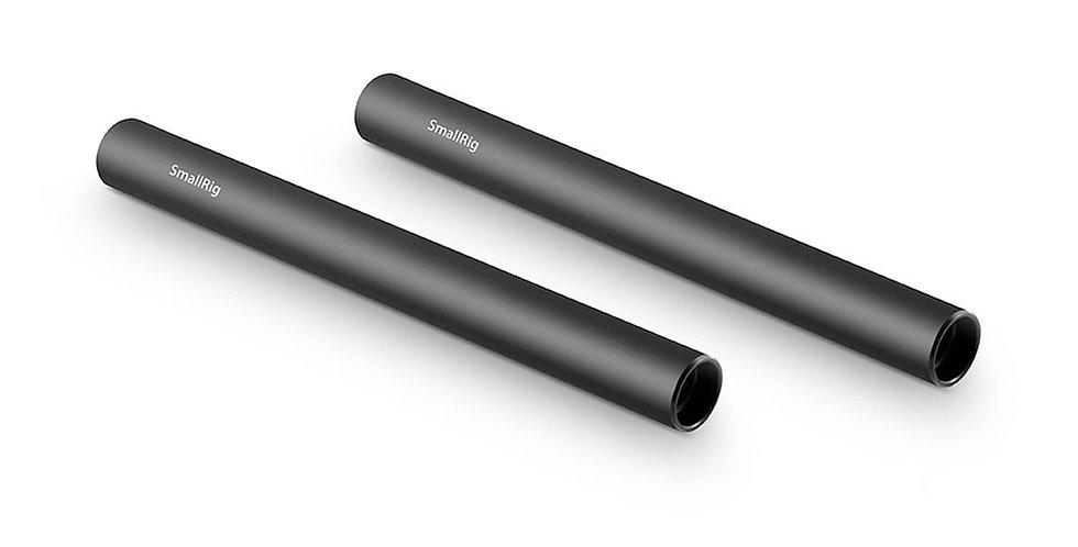 SmallRig 1050 Aluminium-Rods 15 mm (15 cm) 2-er Pack mit M12-Innengewinde