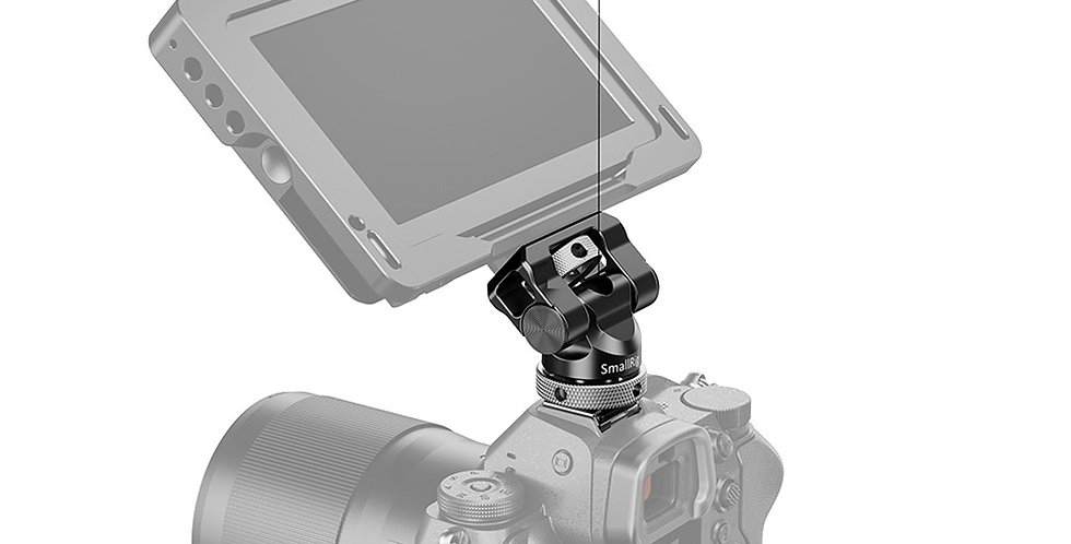 SmallRig BSE2346B Swivel&Tilt Monitor- Halterung kipp-/360° drehbar + Cold Shoe