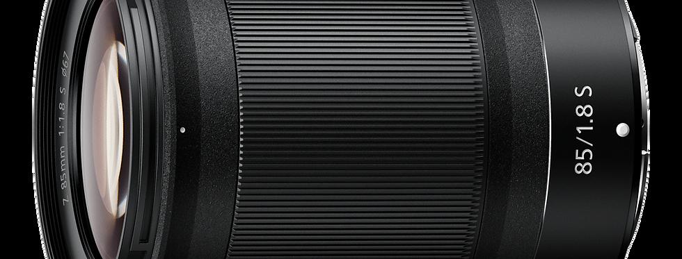 NIKKOR Z 85mm f/1.8 S Objektiv
