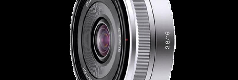Sony E 16mm F2.8 Objektiv