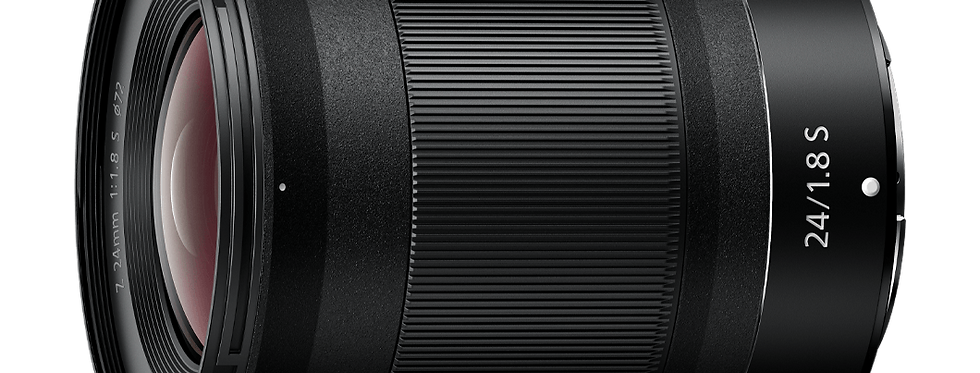 NIKKOR Z 24mm f/1.8 S Objektiv