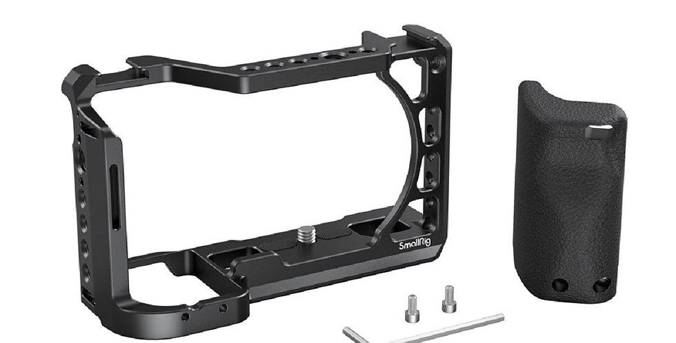 SmallRig 3164 Cage für Sony A6 Serie mit Silikon Handgriff