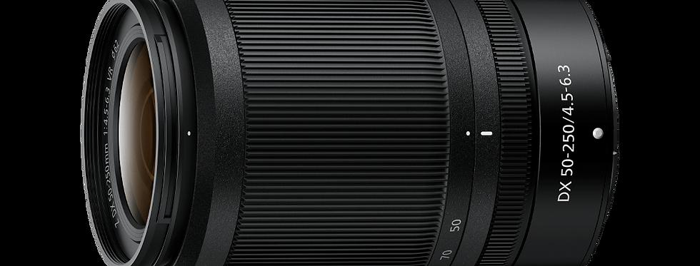 NIKKOR Z DX 50-250 mm f/4.5-6.3 VR