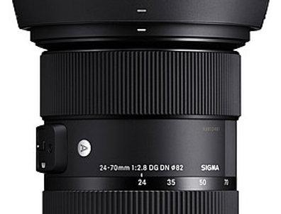 Sigma Art 24-70mm 2.8 DG DN für Sony E