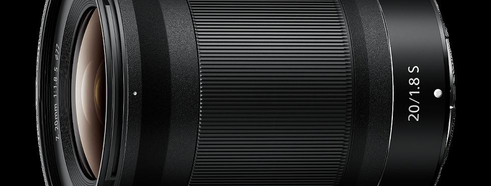 NIKKOR Z 20mm f/1.8 S Objektiv