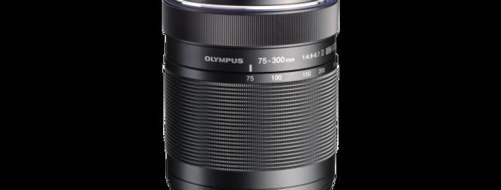 Olympus M.Zuiko Digital ED 75-300mm 1:4.8-6.7 II schwarz Objektiv