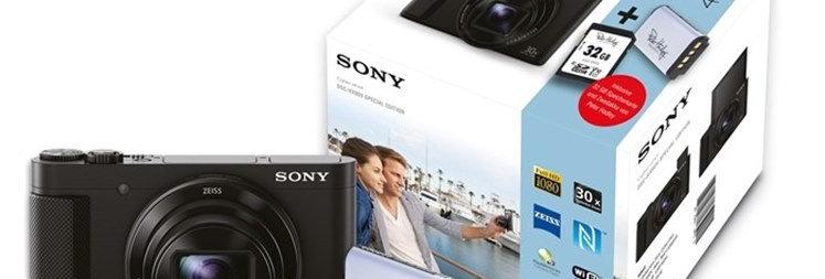 Sony Cyber-shot DSC-HX90V mit 2. Akku & 32GB Speicherkarte