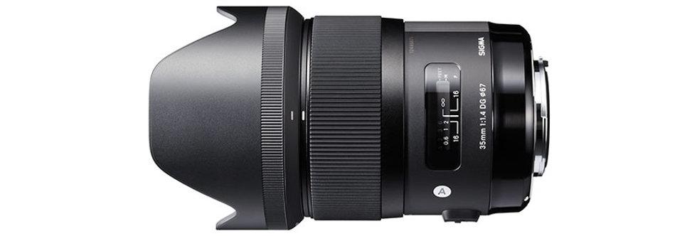 Sigma Art 35mm 1.4 DG HSM für Sony E