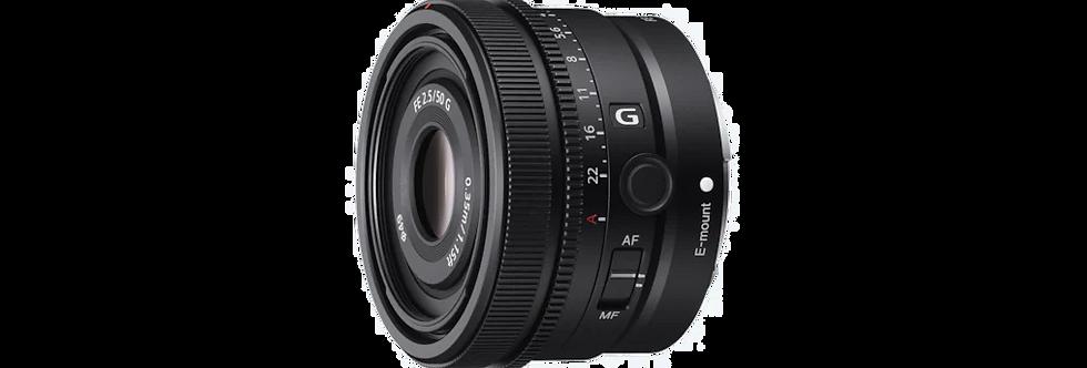 Sony FE 50mm 2.5 G
