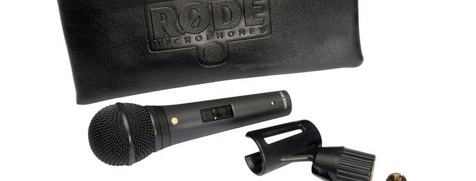Rode M1-S, dynamisches Gesangs-Mikrofon mit Schalter