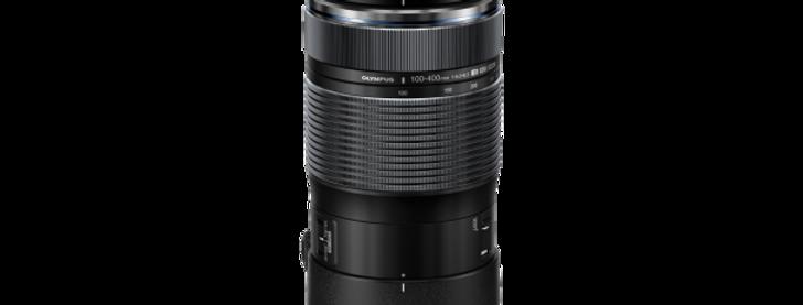 Olympus M.Zuiko Digital ED 100-400mm F5.0-6.3 IS/ EZ-M1040 schwarz Objektiv