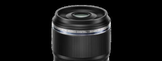 Olympus M.Zuiko Digital ED 30mm 1:3.5 schwarz Makro Objektiv