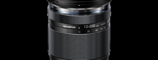 Olympus M.Zuiko Digital ED 12-200mm F3.5-6.3 schwarz Objektiv