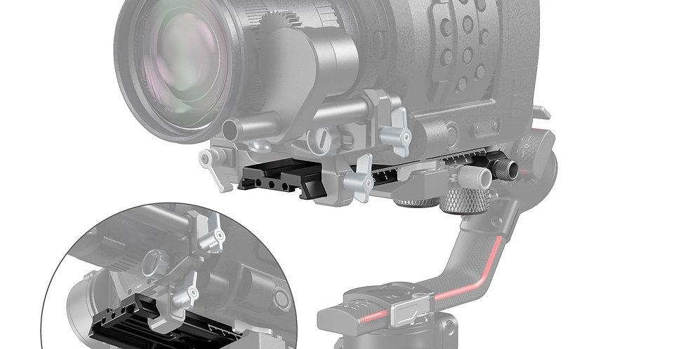 SmallRig 3031 Schnellwechselplatte erweitert DJI RS2/Ronin-S Gimbal