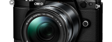 Olympus OM-D E-M5 Mark II schwarz mit 12-100mm