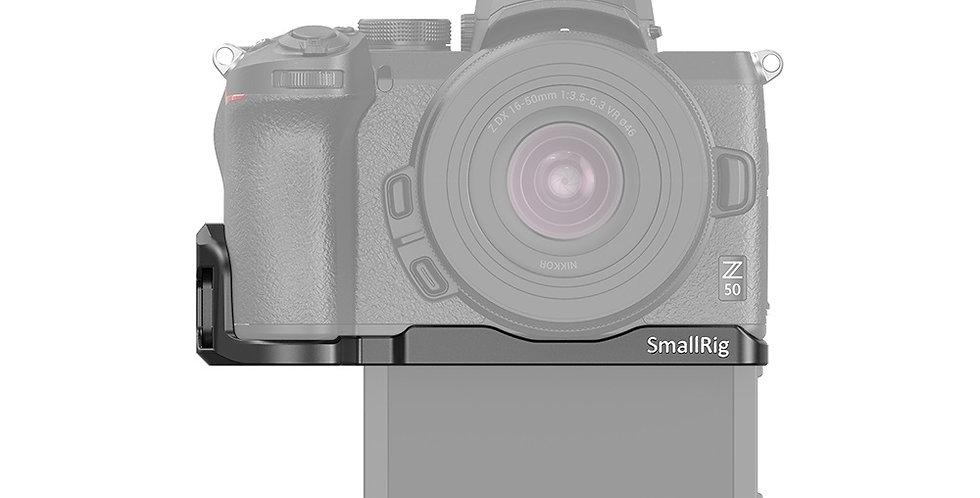 SmallRig LCN2667 Vlogging Mounting Plate für Nikon Z50 Kamera, Adapterplatte