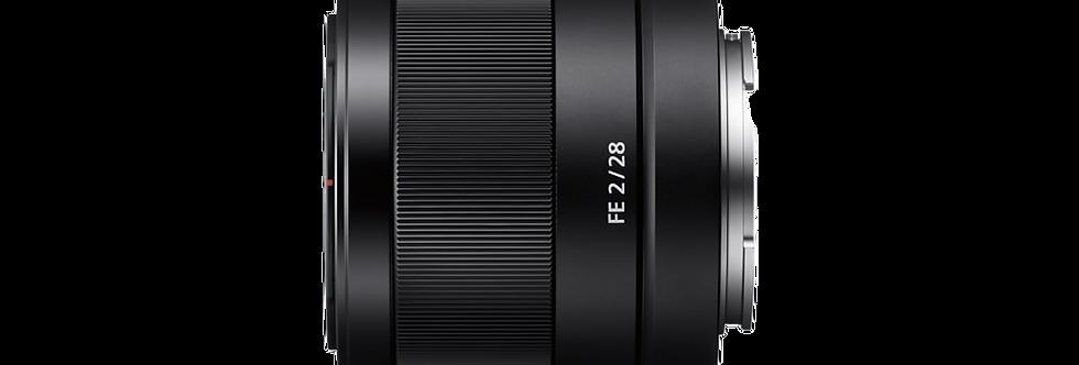 Sony FE 28mm F2.0 Objektiv