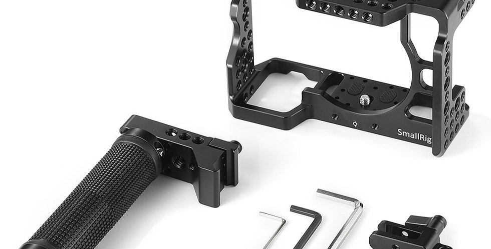 SmallRig 2096C Sony-Cage-Kit = Cage, Topgriff & HDMI-Klemme für A7RIII/A7III