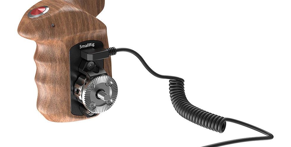 SmallRig 2511 Holz Handgriff mit Fernauslöser f. spiegellose Sony Kameras