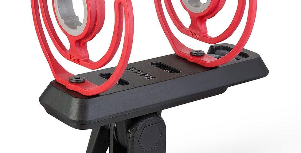 """Rode SM4-R elastische Mikrofonaufhängung mit Dual-Rycote-Lyre und 3/8"""" Gewinde"""