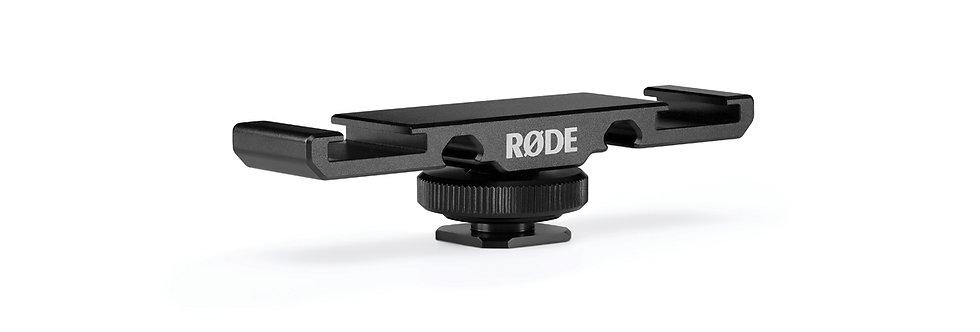 Rode DCS-1 Dual Blitzschuhadapter/Blitz- schiene