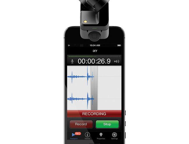 Rode iXY 5 Lightning Aufsteck Stereo- mikrofon für Apple iPhone