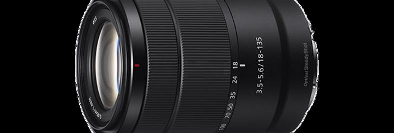 Sony E 18-135mm F3.5-5.6 OSS Objektiv