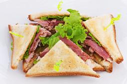 Chicken & Bacon Sandwich.