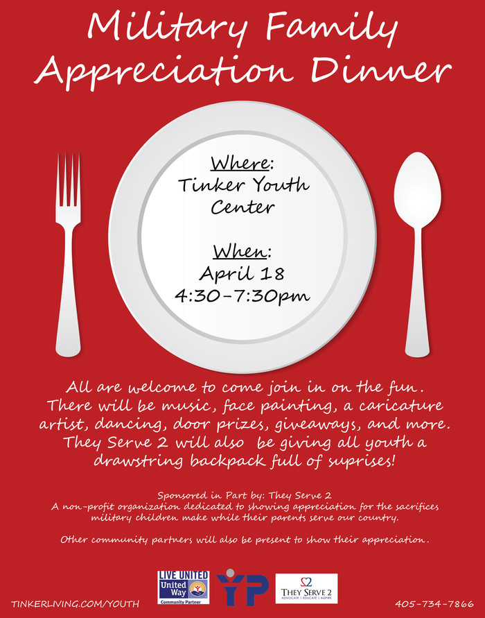Military Family Appreciation Dinner at Tinker AFB