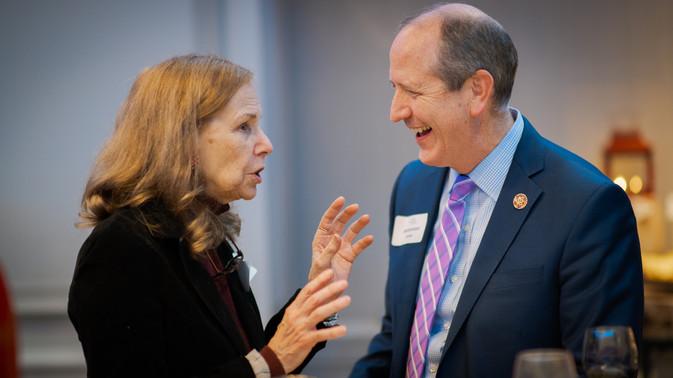 Mitzi Perdue & Congressman Dan Bishop