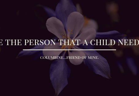 Be The Person That A Child Needs