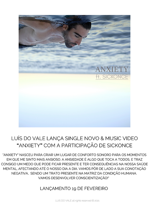 """LUÍS DO VALE """"ANXIETY"""" FEAT. SICKONCE PR"""