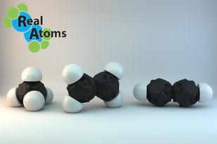 Moleclar Model Ethane Ethene Ethyne