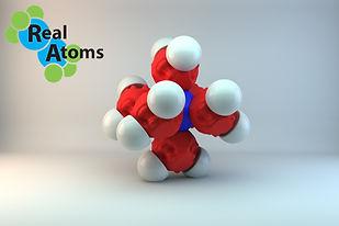 Molecular Model Chromium Hexaaqua